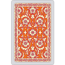 Autumn colours single card deck, orange