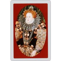 Queen Elizabeth Single playing card deck