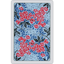 Roses Playing Cards - blue
