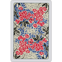 Roses Playing Cards - cream