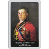 Duke of Wellington playing cards.
