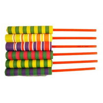 Deluxe Paper Sword Flick Sticks - 6 Pack