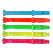 Small Plastic Flute - 6 Pack