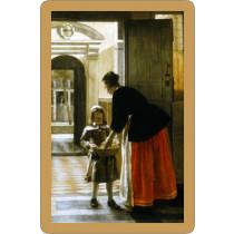 Hooch: Boy & Bread playing cards