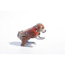 Tin toy jumping dog