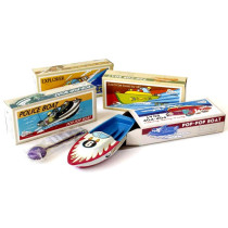 Lithograph pop pop boat assorted