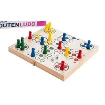 Wooden Folding Ludo game with storage