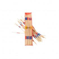 Giant wooden Mikado pick-up sticks