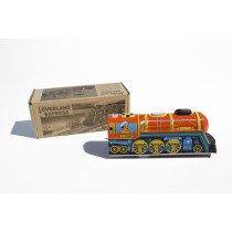 Tin Treasure's Overland Express with Whistle