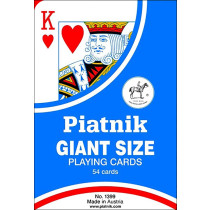 Piatnik Giant playing cards - 18 x 12cm