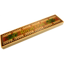 Royal Oak pub cribbage board