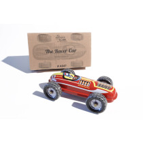 Tin treasure Racecar No12 clockwork tin toy
