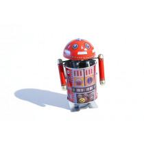 Robo Cop spinning head robot