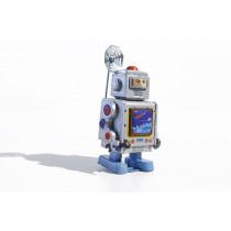 Robot Satellite receiver robot