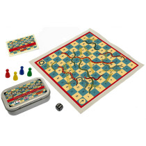 Snakes & Ladders. Traditional Pocket Game