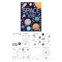 Space Puzzle Book