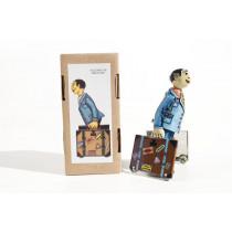 Paya imitation Student with suitcase