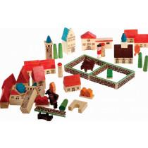 Wooden Toy Village