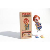 Welby Drumming Clown