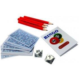 Miniature Bingo game. Ideal Christmas Cracker filler