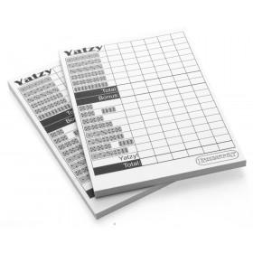 Yatzy score pads x2  (Yahtzee compatible)