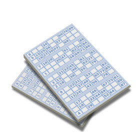 Pocket Bingo game replacement pads