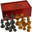 Staunton style chessmen