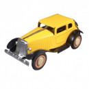 Oldtimer Automobile - yellow  - Tin Toy / retro / clockwork toy car