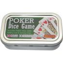 Pocket / Travel Poker dice game