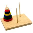 Miniature Tower of Hanoi. Ideal Christmas Cracker filler
