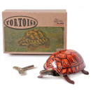 Tin toy walking tortoise