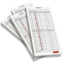 Whist score pads / scoring cards (four pack)