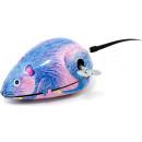 Clockwork mouse tin toy.