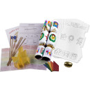 Large Colour Your Own Cracker Kits - 10 Pack