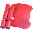 Large Wedding DIY Cracker Kit 35cm - Red - 6 Pack