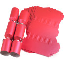 Large Wedding DIY Cracker Kit 35cm - Red - 10 Pack