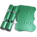 Large Wedding DIY Cracker Kit 35cm - Green - 6 Pack