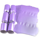 Large Wedding DIY Cracker Kit 35cm - Lilac - 6 Pack