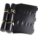 Wedding cracker kit Jet & Gold X 25