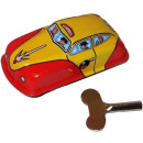 Taxi cab. Tin Toy / retro / clockwork toy car