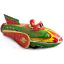Rocket Racer. Tin Toy / retro / clockwork vehicle toy