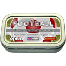 Football game in a tin