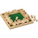 Wooden Shut the box 4 player